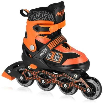 Roller skates Spokey HASBRO STRIVE NERF black and orange, Spokey