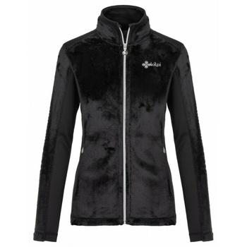 Women's warm hoodie without hood Kilpi SKATHI-W Black, Kilpi