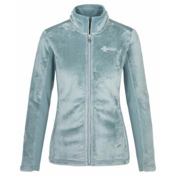 Women's warm hoodie without hood Kilpi SKATHI-W light blue, Kilpi
