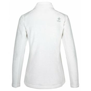Women's warm hoodie without hood Kilpi SKATHI-W white, Kilpi