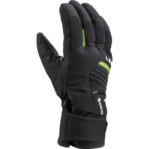Ski gloves LEKI Spox GTX black / lime, Leki