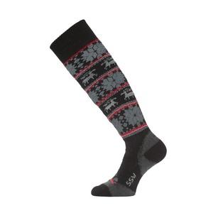 Ski socks Lasting SSW 903 black, Lasting