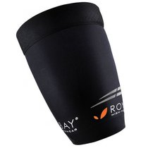 Compression thigh covers ROYAL BAY® Extreme Black 9999, ROYAL BAY®