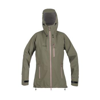 Jacket Direct Alpine Talung Lady khaki / coral