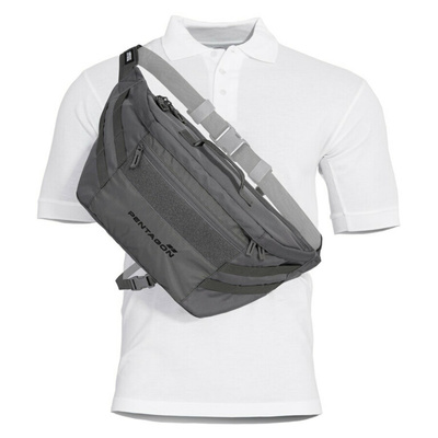 Telamon Pentagon® wolf grey shoulder bag, Pentagon
