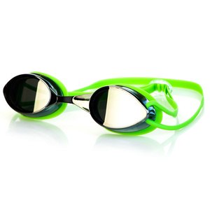 Swimming glasses Spokey SPARKI green, mirror lenses