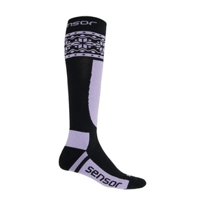 Socks Sensor THERMOSNOW NORWAY black / purple 17200090, Sensor