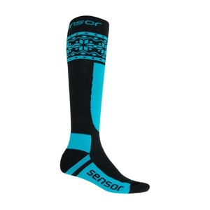 Socks Sensor THERMOSNOW NORWAY black / blue 17200089, Sensor