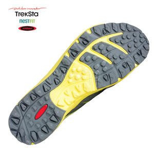 Shoes Treksta Alter Ego GTX woman gray / yellow, Treksta