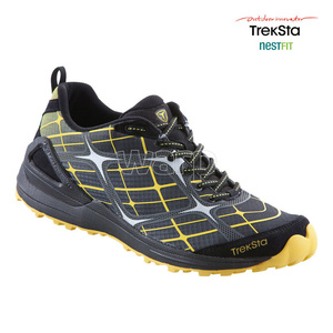 Shoes Treksta Alter Ego man black / yellow, Treksta