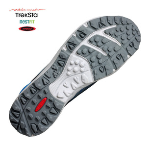 Shoes Treksta Alter Ego woman gray / sky blue, Treksta