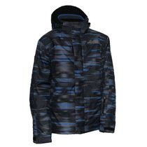 Jacket Trimm Neon black / blue / gray, Trimm