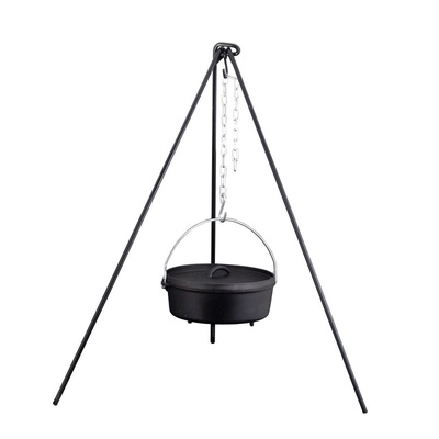 Fishing Stool Chair- Triangle Chair Camp Chef for pot Dutch Oven, Camp Chef
