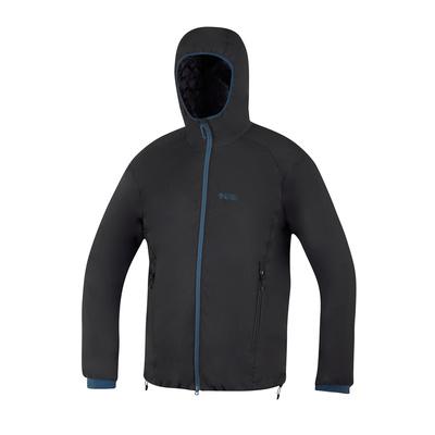 Jacket Direct Alpine feather Uniq black / petrol, Direct Alpine
