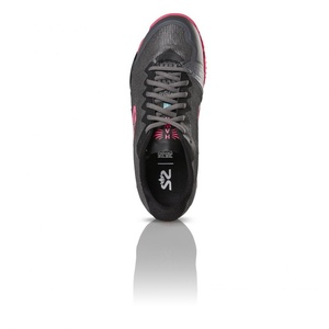 Shoes Salming Hawk Shoe Women Gunmetal / Pink, Salming