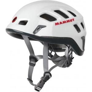 Climbing helmet Mammut Rock Rider white-smoke size 1, Mammut