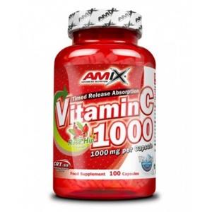Amix Vitamin C 1000mg, 100 capsules, Amix
