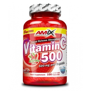 Amix Vitamin C 500mg cps., Amix