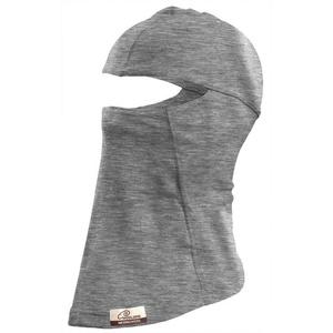 Wool merino balaclava Lasting 160g LOX 8484 grey, Lasting
