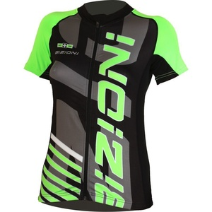 Bike jersey Lasting WD73 black and green, Lasting