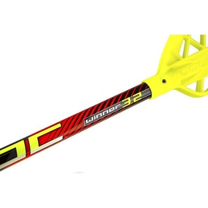 Floorball stick WOOLOC WINNER 3.2 red 87 ROUND NB '16, Exel