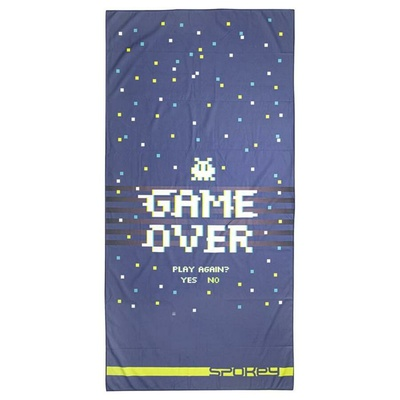 Quick-drying towel Spokey GAME OVER, Spokey