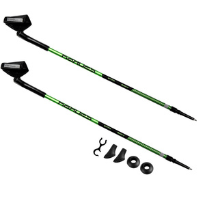Hole Nordic Walking 2-dílné Spokey MEADOW II black and green, Spokey
