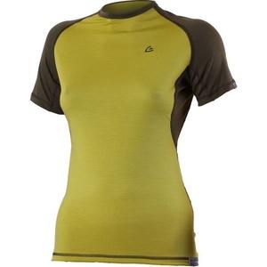 Merino shirt Lasting ZITA 6463 green wool, Lasting